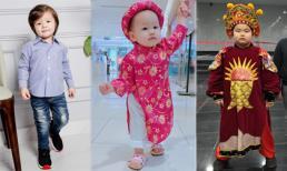 Nhóc tỳ nhà sao Việt sành điệu nhất tuần qua (P91)