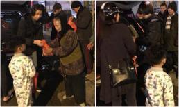 'Bà trùm Venus' Hạ Vy đem Tết đến cho người vô gia cư ở Hà Nội