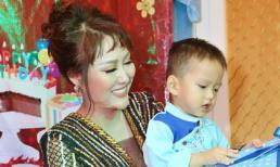 Phi Thanh Vân tổ chức sinh nhật tròn 2 tuổi cho con trai
