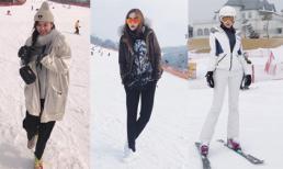 Bộ ba mỹ nhân: Kỳ Duyên - Diệp Lâm Anh - Hà Lade đăng ảnh dưới tuyết trắng tại Hàn Quốc