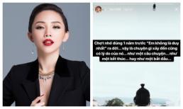 Tóc Tiên lại tâm trạng, dân mạng rộ nghi vấn chia tay?