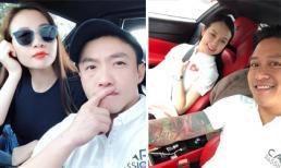Cường Đô la và Đàm Thu Trang hội ngộ cùng vợ chồng Tuấn Hưng trong chuyến đi phượt bằng siêu xe