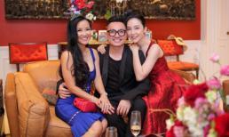 Linh Nga tình tứ bên bạn trai đại gia trong buổi tiệc sinh nhật