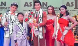Diễn viên Xuân Nguyễn ủng hộ siêu mẫu Hoàng Phi Kha tại đấu trường  nhan sắc quốc tế dành cho quý ông