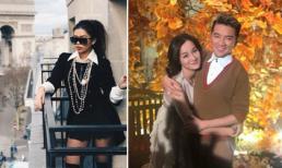 Hot girl và hot boy 7/3/2018: Em chồng Hà Tăng sành điệu ở Paris, vợ sắp cưới của Hữu Công thân thiết với Đàm Vĩnh Hưng