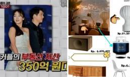 Lóa mắt với nội thất hoành tráng trong biệt thự của vợ chồng Song Hye Kyo và Song Joong Ki