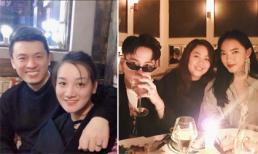 Hot girl và hot boy 10/3/2018: Vợ sắp cưới của Hữu Công thân thiết với Lam Trường, Châu Bùi cùng bạn trai sành điệu ở Paris