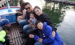 Vợ chồng Jennifer Phạm đưa Bảo Nam đi chơi ở Mỹ trước ngày về Việt Nam