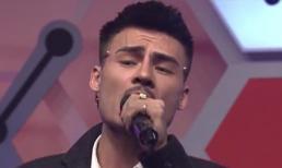 Hiện tượng mạng Hoa Vinh khoe giọng hát live trên sóng truyền hình