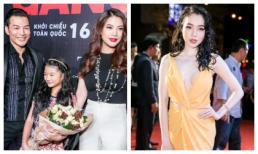 Trương Ngọc Ánh dẫn con gái đến chúc mừng Trần Bảo Sơn, Elly Trần 'hở bạo' trên thảm đỏ