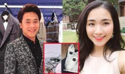 Bạn trai tin đồn công khai quà 'vợ' Hòa Minzy tặng trong ngày Valentine trắng?