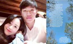 Sau lùm xùm của bạn gái, Xuân Trường viết 'tâm thư' chia sẻ về fans chân chính và fans phong trào