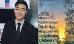 Sau khi bị người hâm mộ phản ứng, hủy theo dõi trang cá nhân, Xuân Trường U23 lên tiếng xin lỗi