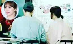 Dính tin đồn bầu bí, Song Hye Kyo được ông xã Song Joong Ki tháp tùng đi ăn uống