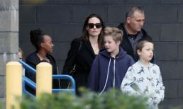 Angelina Jolie xuất hiện cùng các con giữa tin đồn chuẩn bị kết hôn và nhận thêm con nuôi