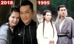 Cuộc hội ngộ ngọt ngào của 'Tiểu Long Nữ' Lý Nhược Đồng và 'Dương Quá' Cổ Thiên Lạc sau 23 năm