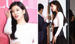 Được khen ngày càng xinh đẹp nhưng Suzy lại lộ vòng hai nhô cao bất thường