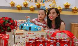 Ly Kute tổ chức sinh nhật 2 tuổi cho con trai Khoai Tây