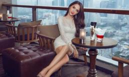 Diện lại váy cũ, Hoa hậu Hương Giang vẫn tự tin khoe đường cong chữ S