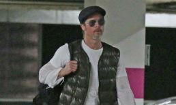 Brad Pitt râu tóc bạc phơ xuất hiện sau tin đồn Angelina Jolie hẹn hò trai đẹp
