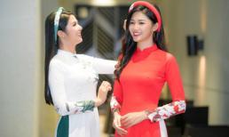 Ngọc Hân - Thanh Tú dịu dàng 'đọ sắc' trong trang phục áo dài