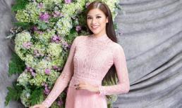 Nguyễn Thị Thành dịu dàng tái xuất trong bộ ảnh áo dài