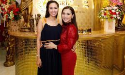 Hoa hậu Kim Nguyễn rạng rỡ đến tham dự khai trương chi nhánh 4 của Angel Beauty