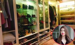 Hoa hậu Phạm Hương khoe tủ đồ hàng hiệu khiến nhiều người 'phát thèm'