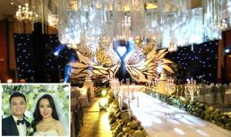 Hé lộ không gian tiệc cưới của Khắc Việt và Thanh Thảo tại Hà Nội hôm nay (1/4)