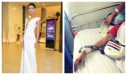 Vừa nhập viện vì ngộ độc thực phẩm, Hoa hậu H'Hen Niê xanh xao dự tiệc cùng Hoàng Thuỳ, Mâu Thuỷ