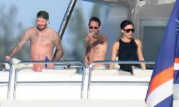 Gia đình David Beckham tiệc tùng thư giãn trên du thuyền hạng sang