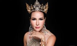 Hoa hậu Quý bà Hoàn vũ - Mrs Universe 2017 Trâm Lưu với nhan sắc rạng ngời