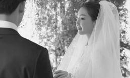 Chồng mới cưới của nữ diễn viên 'Bản tình ca mùa đông' lần đầu lên tiếng sau hôn lễ kín tiếng