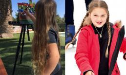 Harper Beckham khoe mái tóc dài như công chúa Rapunzel trong cổ tích