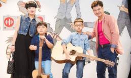 Gia đình danh hài Xuân Bắc lần đầu tiên tham dự Tuần lễ thời trang trẻ em Việt Nam