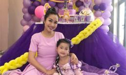Ốc Thanh Vân tổ chức tiệc sinh nhật 'tím' cho con gái tại nhà mới