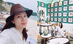 Kỳ nghỉ sang chảnh của siêu mẫu Ngọc Thạch và gia đình tại Phú Quốc