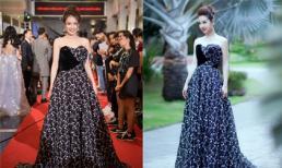 Hoa hậu Jennifer Phạm bị soi 'đụng váy' hở lưng trần của Nhã Phương