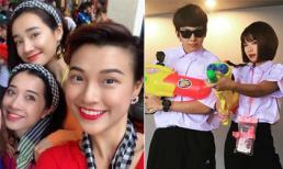 Nhã Phương và loạt sao Việt sang Thái Lan để chơi Tết Songkran