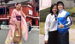 Diễn viên Hồng Ánh du lịch Nhật Bản, thích thú chia sẻ cảm nhận khi mặc kimono