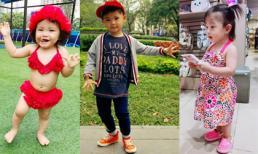 Nhóc tỳ nhà sao Việt sành điệu nhất tuần qua (P101)
