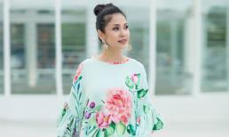 Việt Trinh mặc váy hoa khoe vẻ đẹp nhẹ nhàng, bay bổng