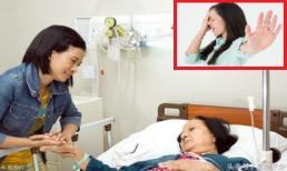 Vất vả chăm sóc mẹ chồng bị bệnh, tôi điếng người khi tình cờ nghe thấy những câu nói cay nghiệt của chị chồng
