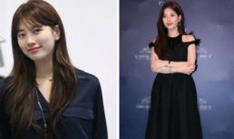 Bị chê mũm mĩm, Suzy chọn toàn đồ tối màu để che khuyết điểm