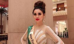 Đại diện Việt Nam Thư Dung đăng quang Á Hậu 2 Miss Eco International 2018