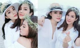 Cận ngày cưới, Diệp Lâm Anh vẫn cùng dàn người đẹp Vbiz rạng rỡ bên nhau ở Đà Nẵng
