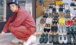 Duy Khánh 'dành cả thanh xuân' để mua giày hàng hiệu