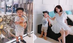 Con trai của Ly Kute siêu đáng yêu khi đi du lịch cùng mẹ