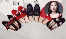 Mừng sinh nhật tuổi 30, Bảo Thy chi hàng trăm triệu mua 16 đôi giày hiệu