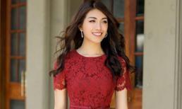 Á hậu Lệ Hằng gợi ý một số mẫu đầm đẹp cho chị em dân văn phòng